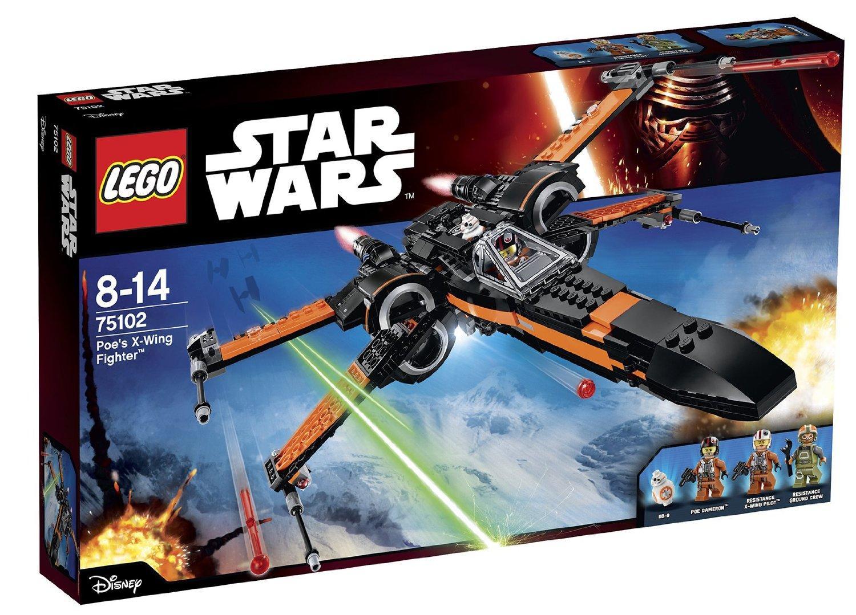 Jeu de construction Lego Star Wars - Poe's X-wing fighter - n°75102