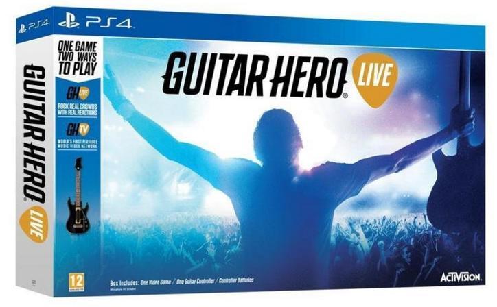 Jeu Guitar Hero Live sur PS3, PS4, Xbox 360 ou Xbox One