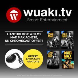 Clé HDMi Chromecast 2 + Anthologie Mad Max en VOD (4 films)