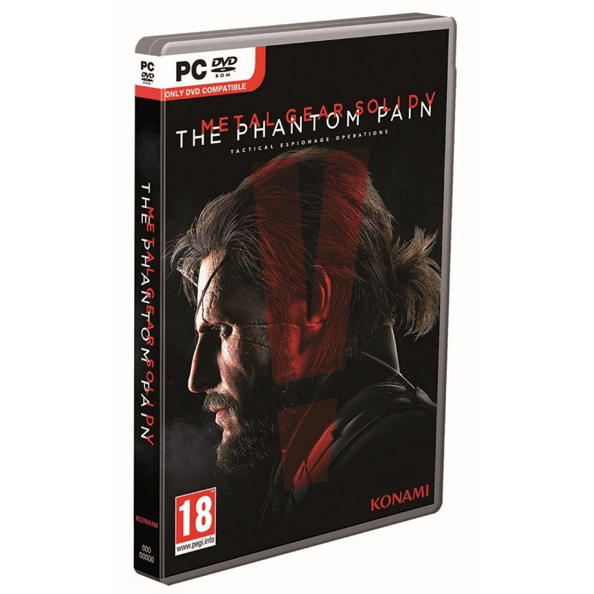 Jeu PC Konami Metal Gear Solid 5 : The Phantom Pain (+15€ en carte cadeau).