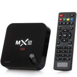 Box android MXIII - G TV S812 4K (2Go + 8Go)