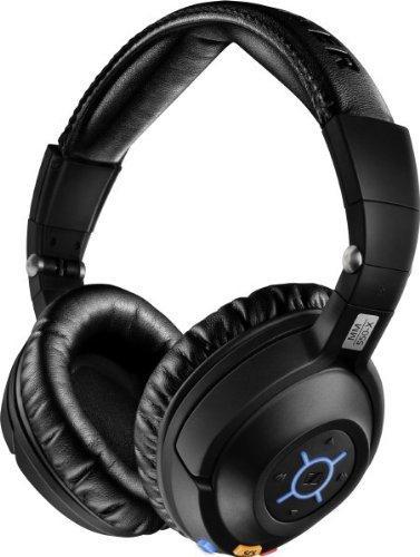 Micro-casque sans fil Bluetooth Sennheiser MM 550-X Kit avec réduction de bruit + Étui
