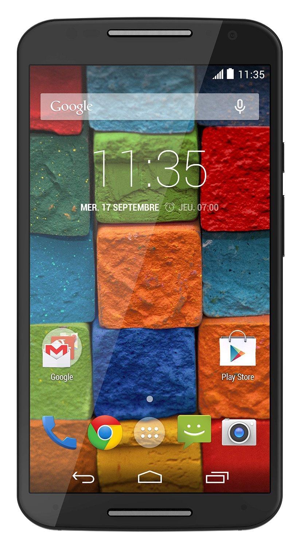 "Smartphone 5.2"" Motorola - Moto X 2ème Génération Noir 4G (via ODR 30€)"