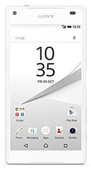 "Smartphone 4.6"" Sony  Xperia Z5 Compact Blanc - 32 Go"