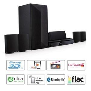 Home-Cinéma 5.1 LG LHB625 Blu-ray 3D 1000W Bluetooth Smart TV (Avec ODR de 50€)