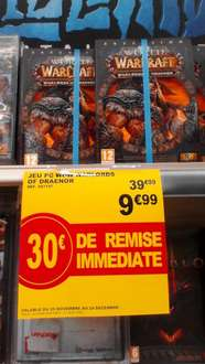 Extension World of Warcraft : Warlords of Draenor sur PC