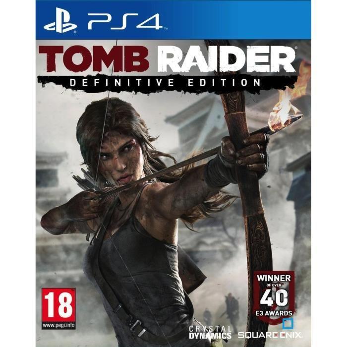 Jeu Tomb Raider sur PS4 - Definitive Edition