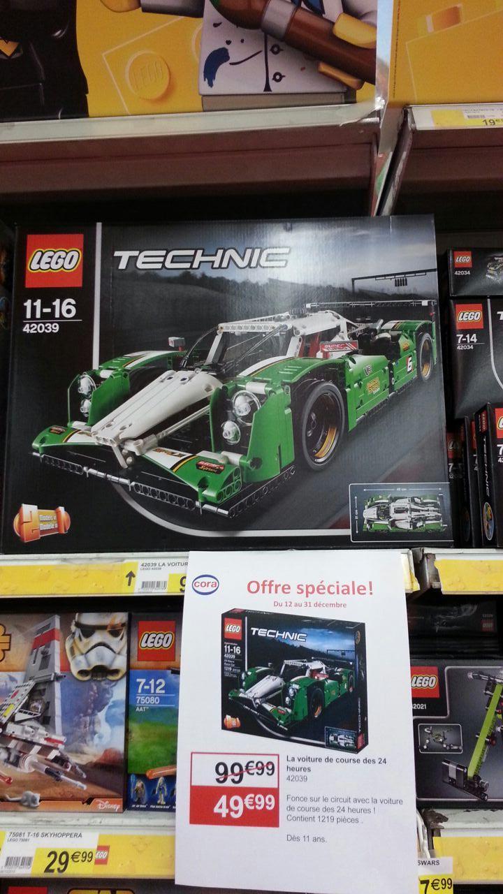 Lego Technic 42039 - La Voiture de Course des 24 heures