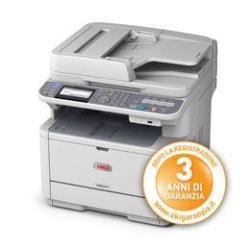 Imprimante multifonction Oki MB451 Laser Monochrome 29 ppm Blanc