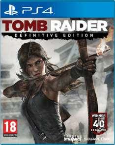 Jeu Tomb Raider sur PS4 - Definitive Edition