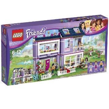 Jeu de construction Lego friends - La maison d'Emma n°41095