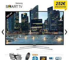 "Téléviseur 48"" Samsung UE48H6400 Smart TV LED 3D Full HD"
