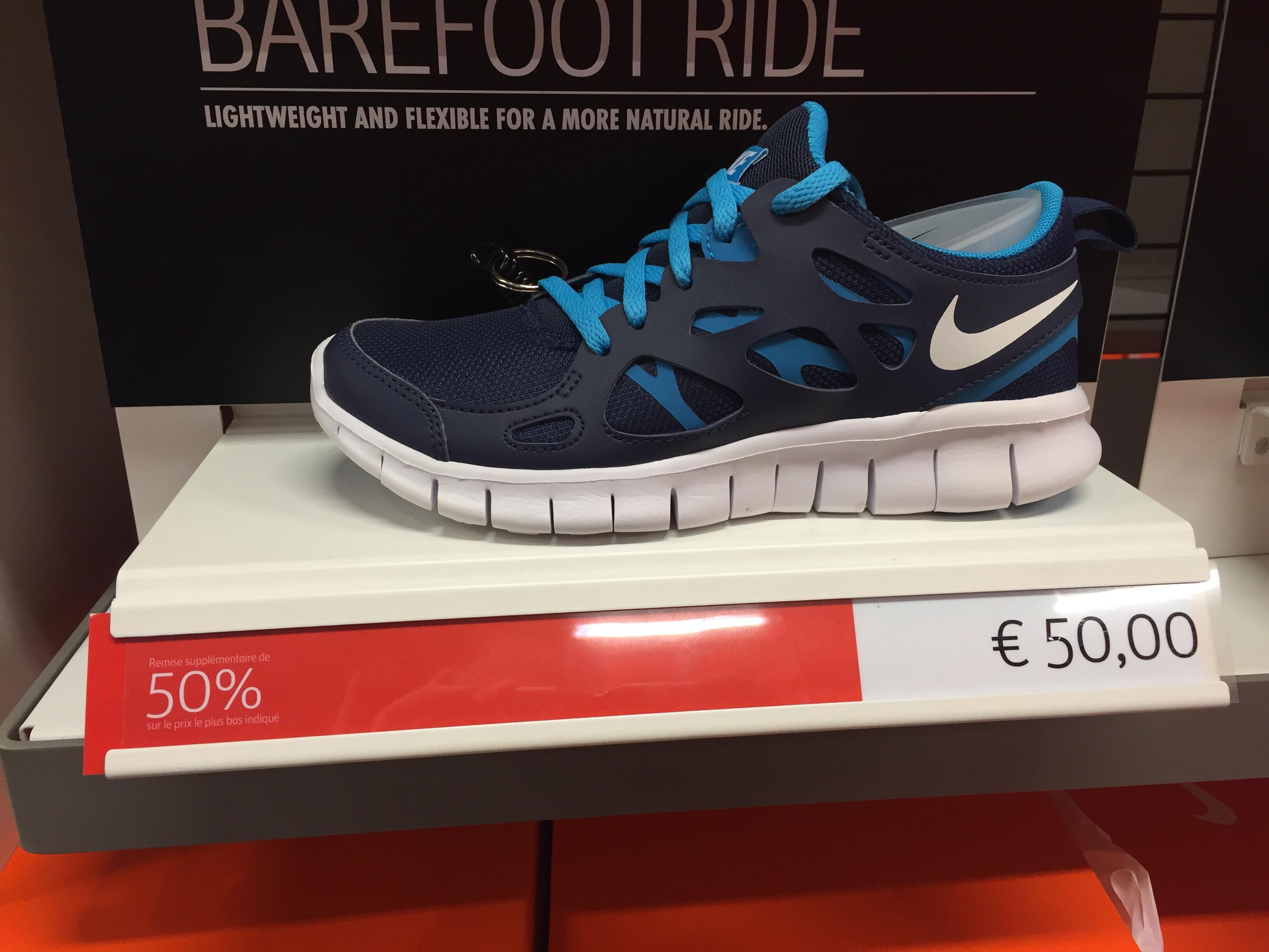 50% de réduction sur une sélection de chaussures de Running nike