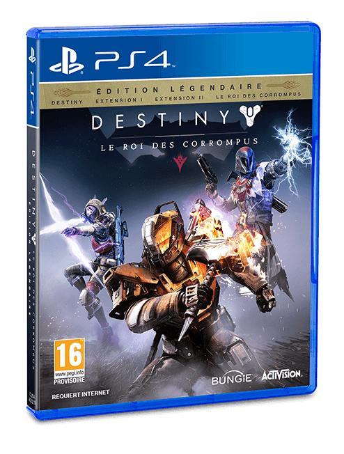 Destiny édition légendaire  sur PS4