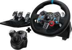 Volant Gaming PC Logitech G29 Driving Force + Driving Force Shifter