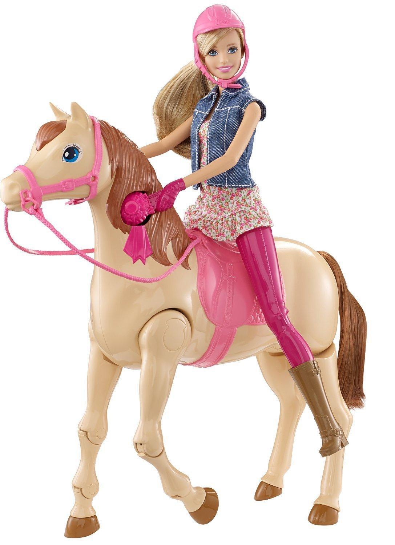 Poupée mannequin  Barbie Hop A Cheval - CMP27