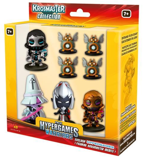 Un pack de Figurines Krosmaster Hypergames Warriors Offert (via l'application Hypergames)
