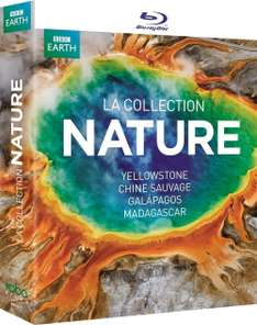 Coffret Blu-Ray : Collection Nature - Yellowstone, Chine sauvage, Galapagos et Madagascar