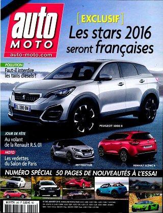Abonnement annuel au magazine Auto Moto - 1 an