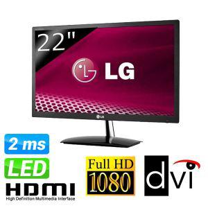 """Ecran PC LED 22"""" Full HD LG E2251VQ-BN"""