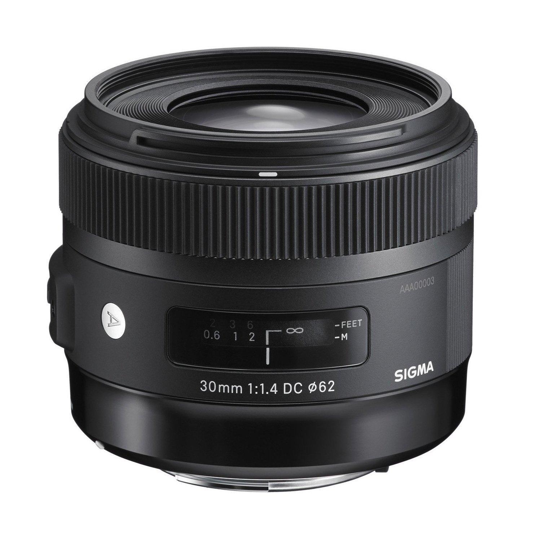 Objectif Sigma 30mm pour Reflex Canon (F1,4 DC HSM ART)