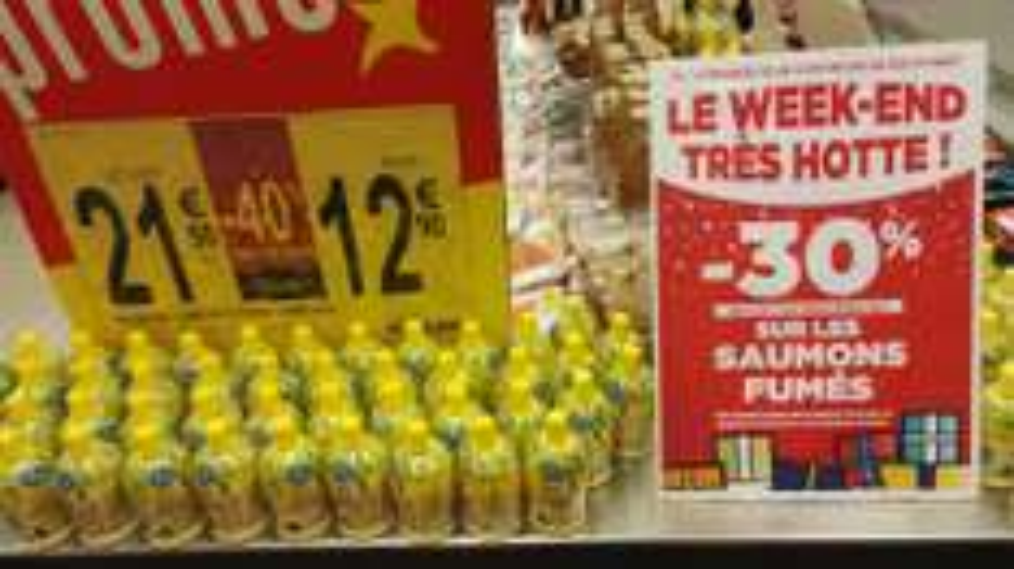 30% offerts en bon d'achat sur tous les saumons - Ex : Saumon fumé Labeyrie d'Ecosse (via 3.87€ fidélité)