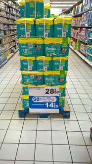 Pack de Couches Pampers Babydry Jumbo+ - 78/76 Couches, Tailles 4 et 4+ (via 14.25€ carte Waaoh)