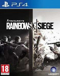 2 jeux sur PS4 ou Xbox One (Tom Clancy's Rainbow Six : Siege, Just Cause 3 Day 1 Edition, etc)