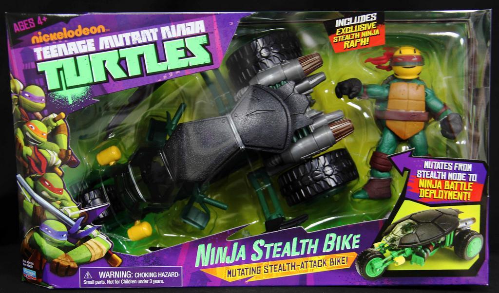 Moto de combat Tortues Ninja avec Raphael (via 15€ carte Waaoh)