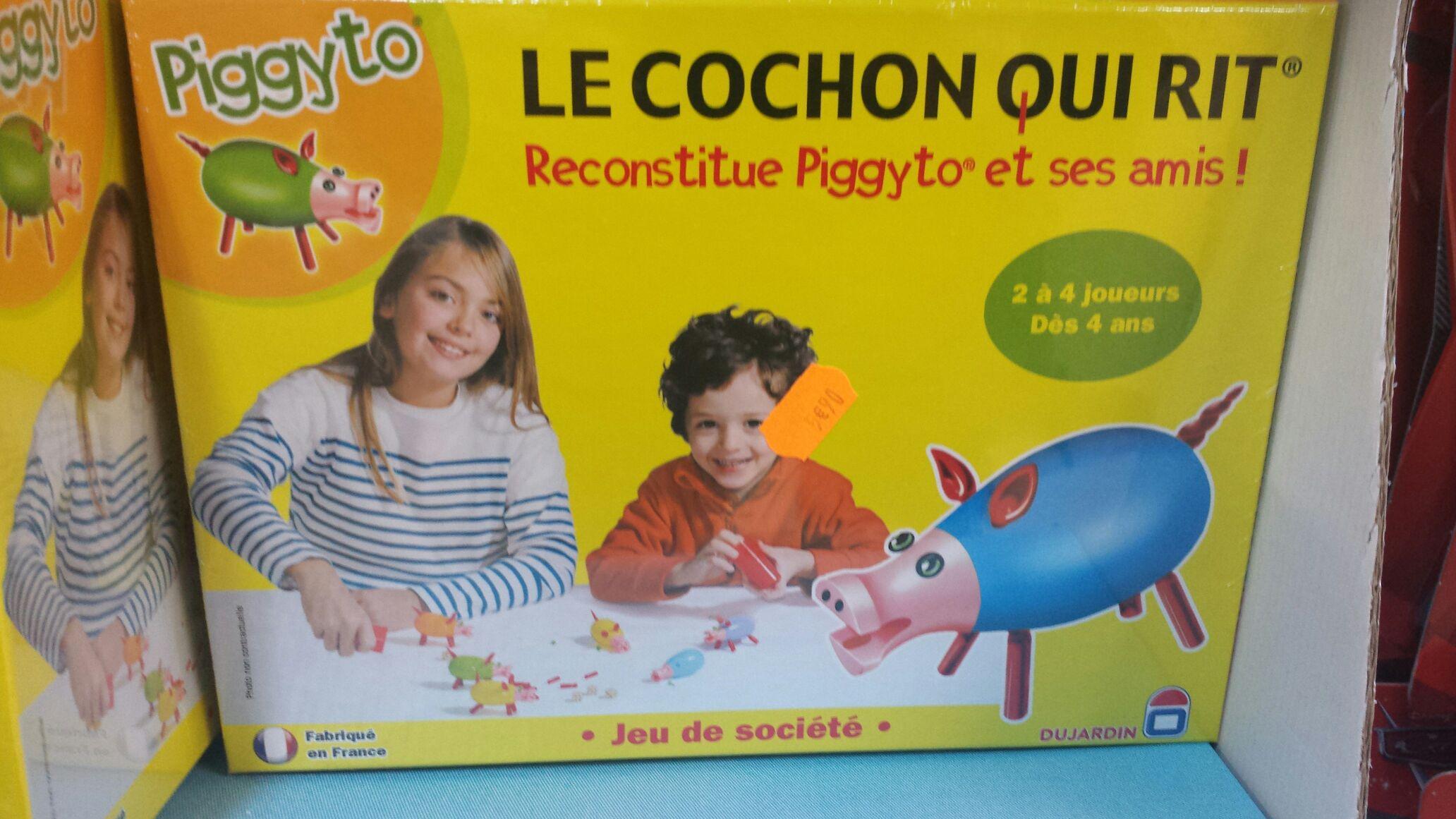 Jeu Le cochon qui rit - Piggyto