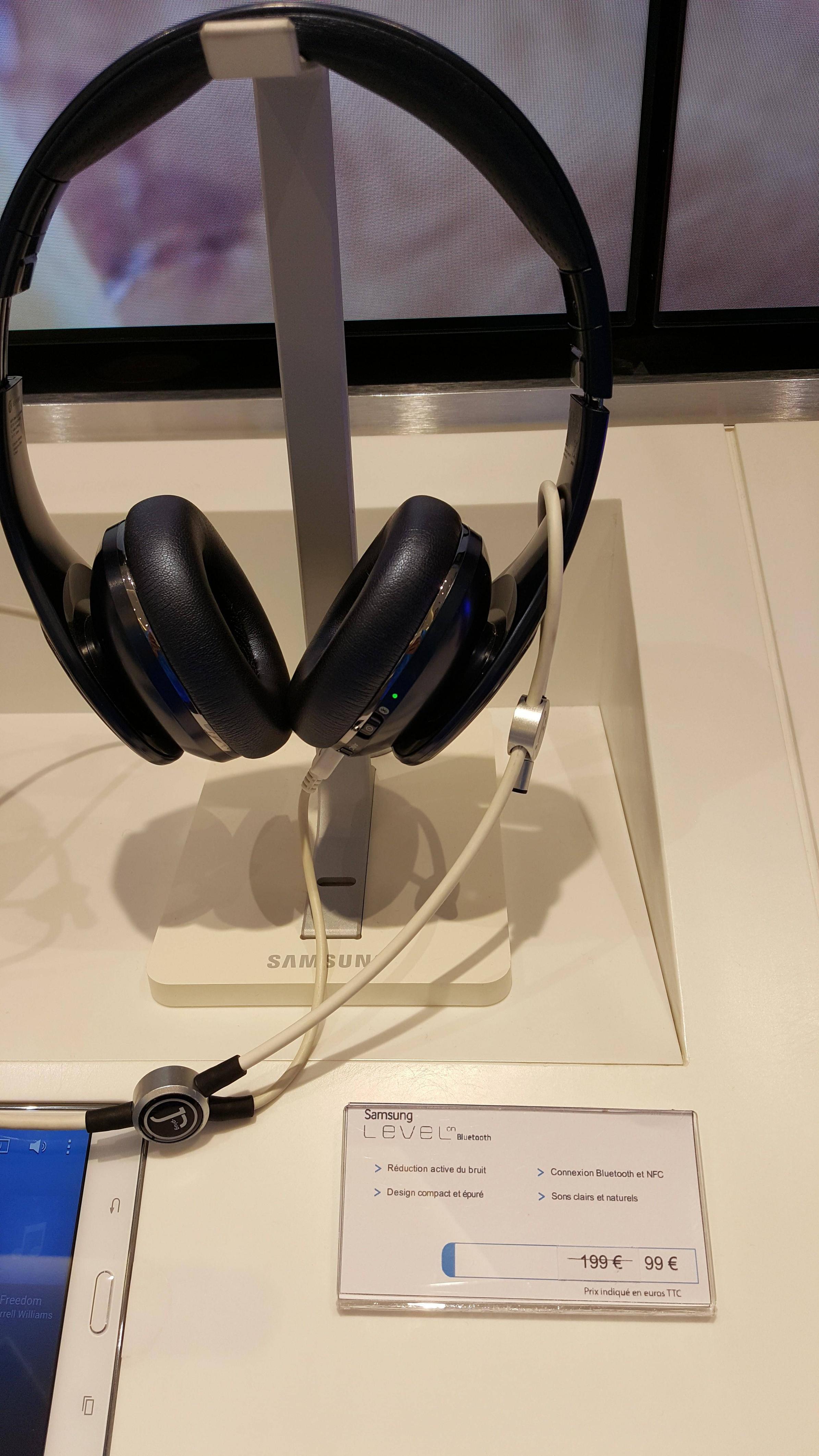 Casque Samsung Level Over Bluetooth Noir/Blanc