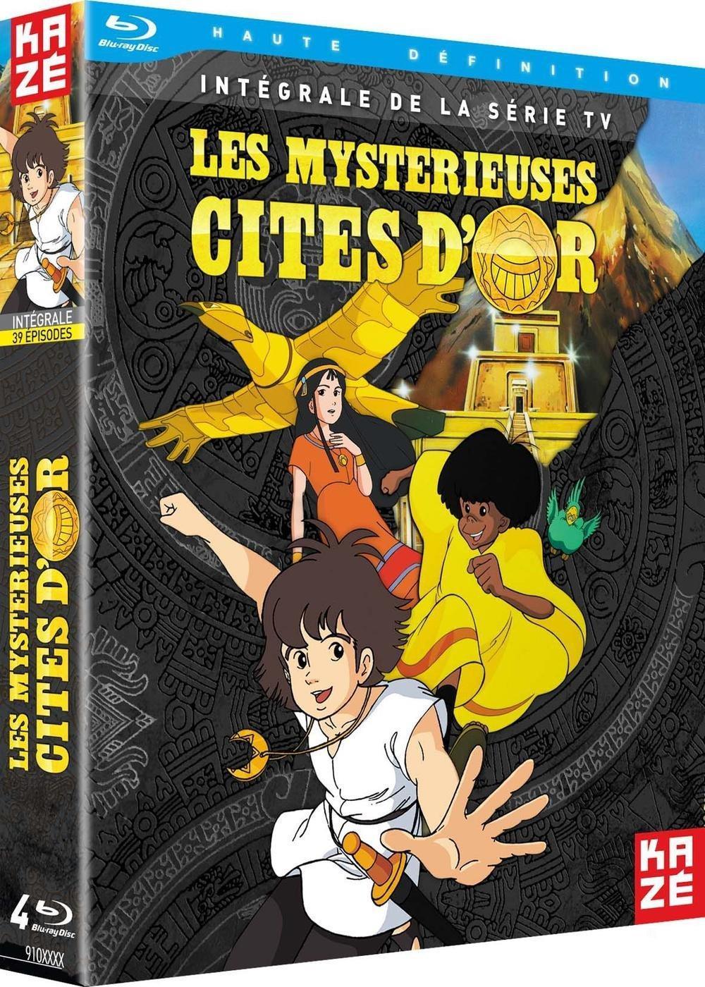 Coffret Blu-ray Mystérieuses Cités d'Or - l'intégrale (1982)