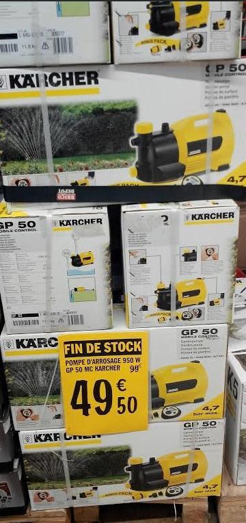 Pompe arrosage Karcher GP50MC 950W