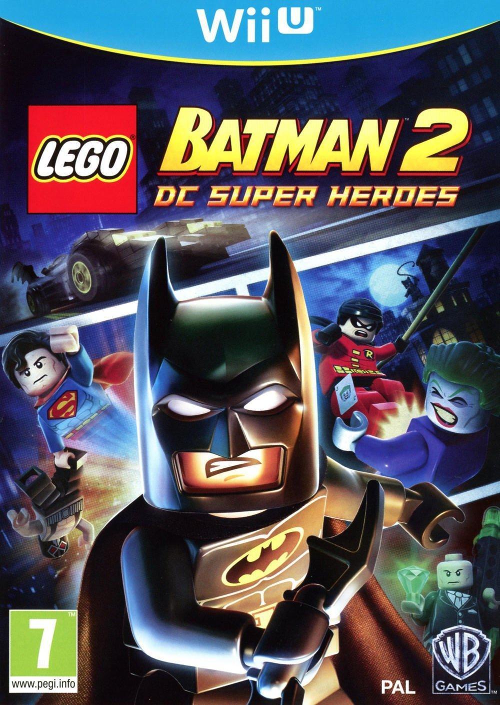 Lego Batman 2 : Dc Super Heroes sur Wii U (autres voir description)