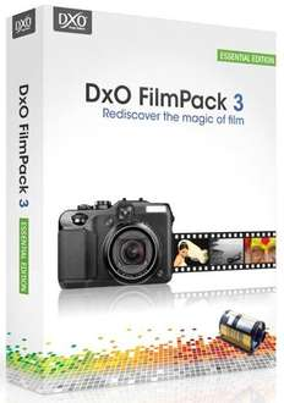 Logiciel DXO Filmpack Essential 3 gratuit sur PC/Mac