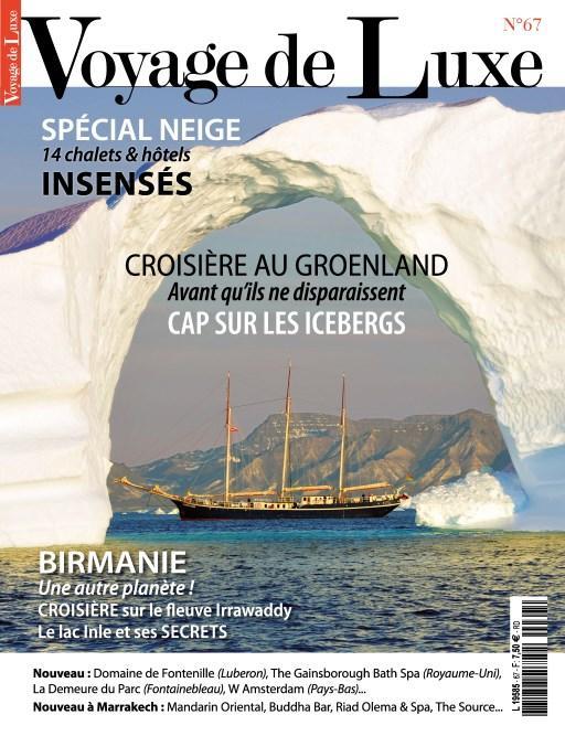 """Revue """"Voyage de Luxe"""" offerte en version numérique (au lieu de 5.90€)"""