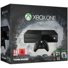 Pack Xbox One 1 To + Rise of the Tomb Raider + Tomb Raider Definitive Edition  + Halo 5