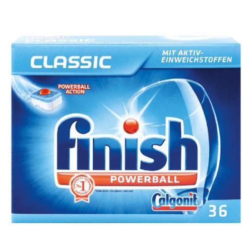 Lot de 36 Tablettes de lave vaisselle Finish