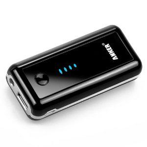 Batterie externe de secours avec lampe de poche intégrée pour appareil mobile