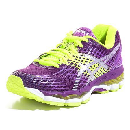 -20% sur une grande partie du site - ex: Chaussures running Femme Asics Nimbus Violet et jaune fluo - Tailles 38, 39, 40 et 42