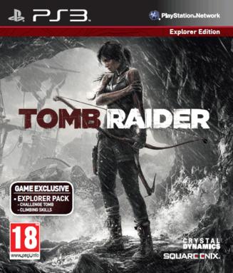 Tomb Raider sur PS3, frais de port inclus