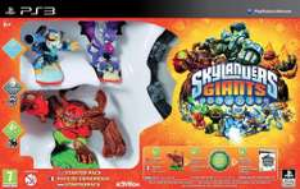 Sélection de packs Skylanders et Disney Infinity en promotion - Ex : Pack Skylanders Giants sur PS3