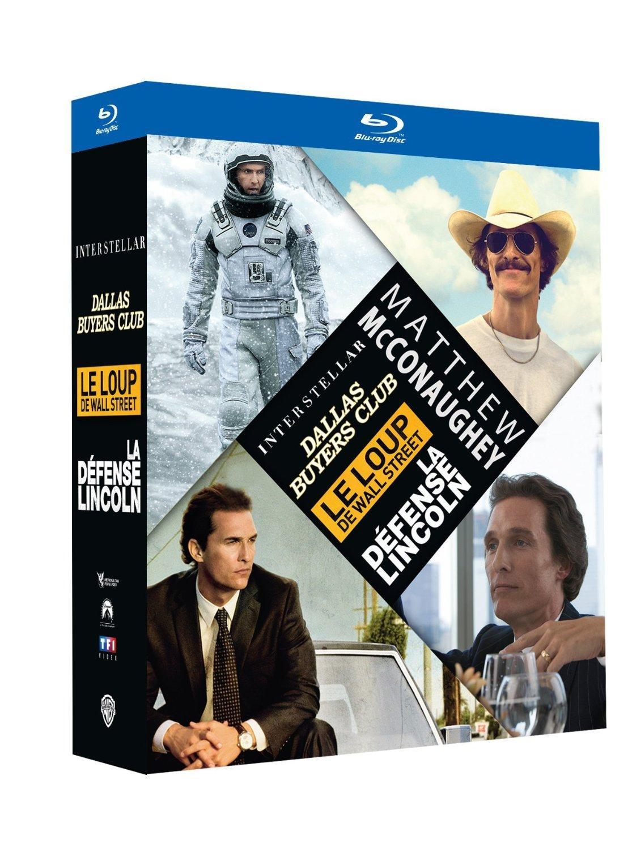 Coffret 4 Blu-ray Matthew McConaughey