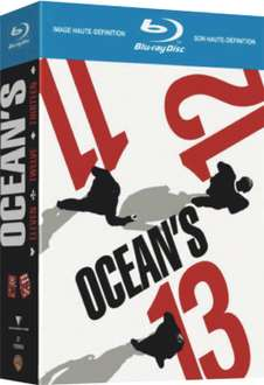 Coffret Blu-ray Trilogie Ocean's 11, 12, 13