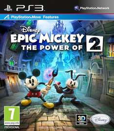Epic Mickey 2 sur PS3
