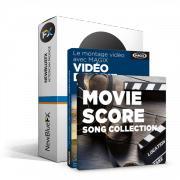 Logiciel Magix Vidéo deluxe 2016 + livre sur le montage vidéo + Action Cam Package + Magix Song Collection