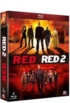 Coffret Blu-ray : Red 1 + Red 2