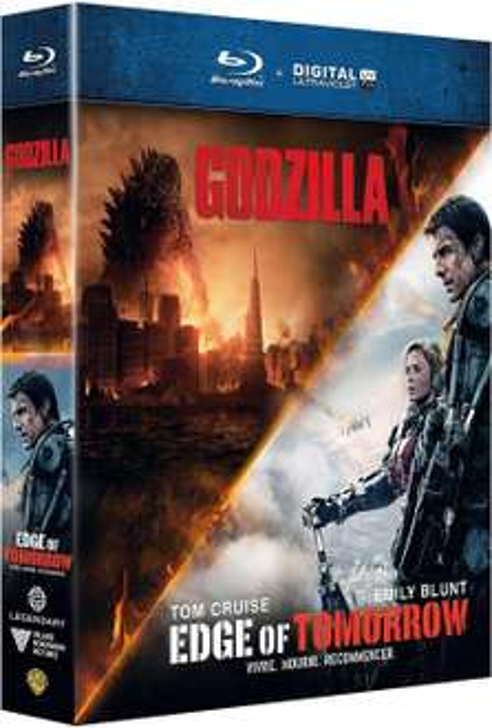 Coffret Blu-ray : Edge of Tomorrow + Godzilla