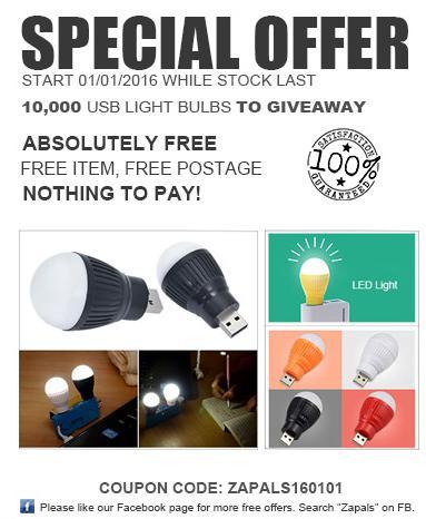 Lampe LED USB Gratuite
