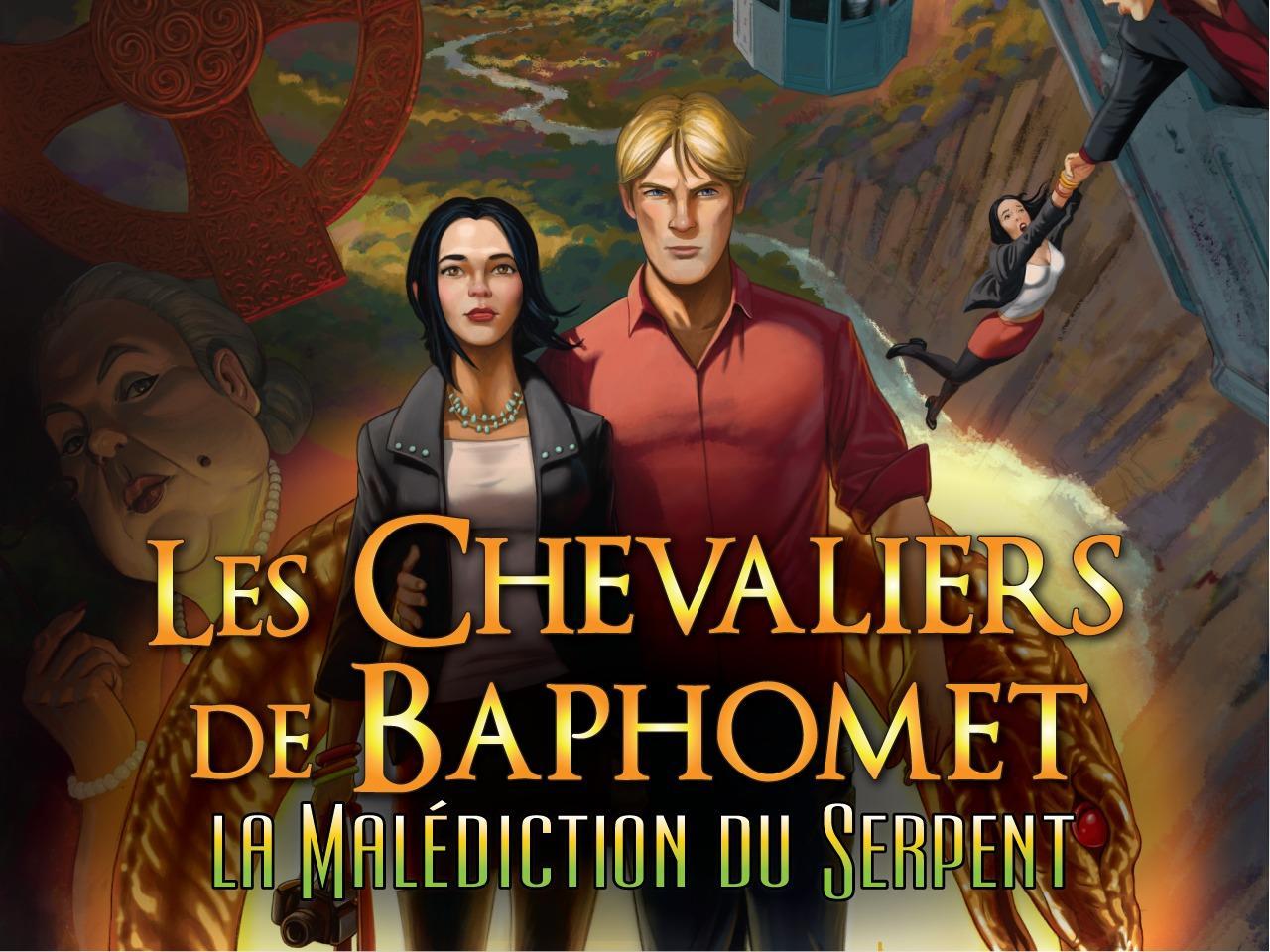 Les Chevaliers de Baphomet 5 - La Malédiction du Serpent Épisode 1 sur iOS